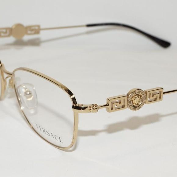Versace Accessories | Gold Medusa Logo Optical Glasses Frame | Poshmark